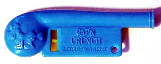 cap'n crunch bo'sun  whistle